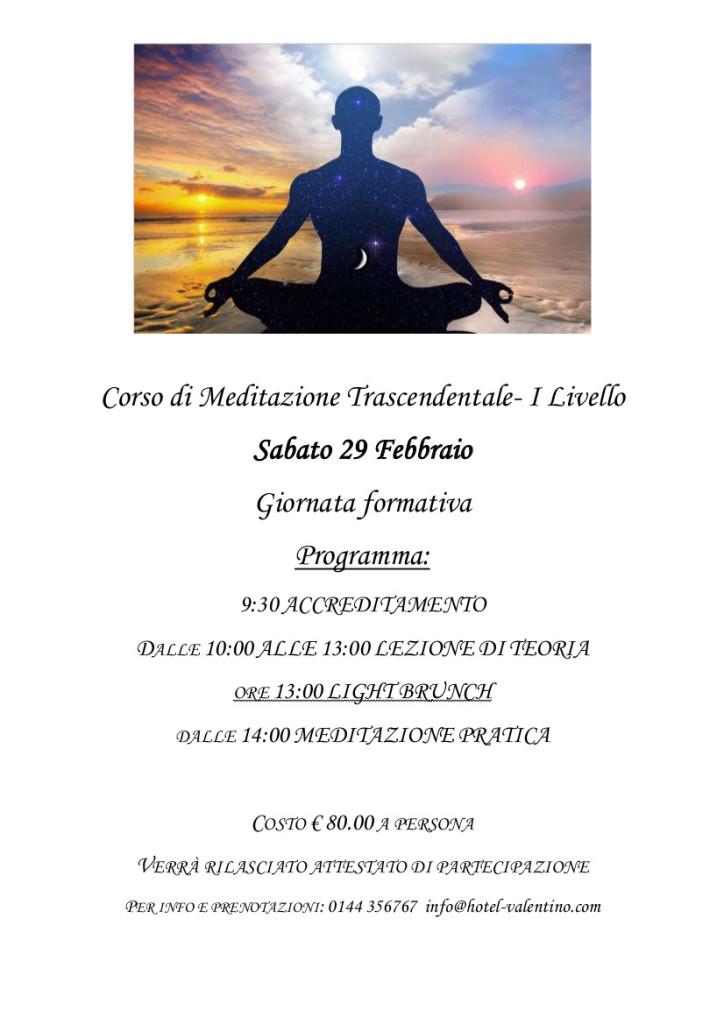 Corso Meditazione 29 febbraio